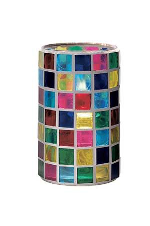 Stained Glass Candle Holder [830]$12.95 CandleLand:, Quality
