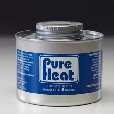 Pure Heat - 6 Hour Wick Chafing Fuel - 1 Can